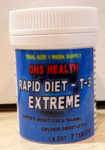Rapid Diet Extreme T-3 Formula (7 day Trial size) - 1 a  day tablet